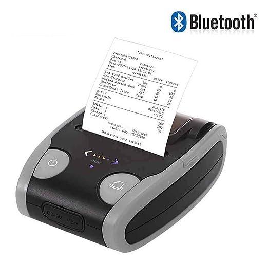 LBSX 58 mm portátil de bolsillo Mini impresora de Bluetooth ...