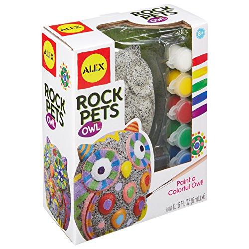 ALEX Toys Trade Rock Pets Owl Craft