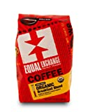 Equal Exchange Organic Coffee, Breakfast Blend, Whole Bean, 12-Ounce Bag (Pack of 3)