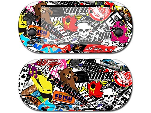 JIAIIO 1PCS Graffiti Art for PSV1000 Skin Sticker Cover for Sony PS vita 1000 for PSV 1000 Decal (Random Distribution)