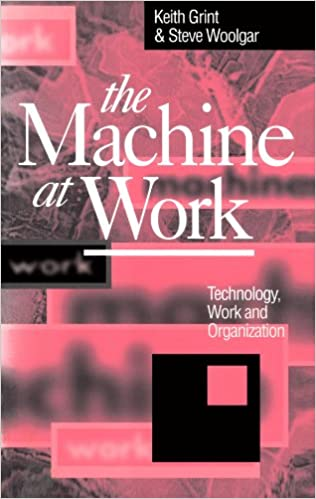 amazon the machine at work technology work and organization