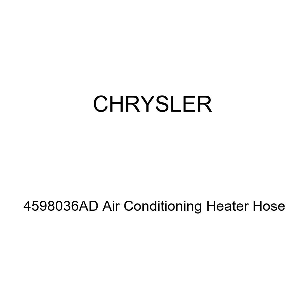 Genuine Chrysler 4598036AD Air Conditioning Heater Hose