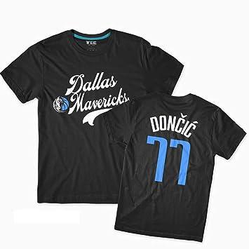 Dallas Mavericks luka Doncic 77# Camiseta Para Hombre, Jóvenes ...