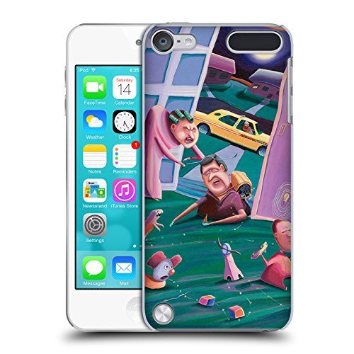 Official Rock Demarco The Accidental Creation Of Miniature Golf Illustrations Hard Back Case for iPod Touch 5th Gen / 6th Gen - Ipod Touch 5th Gen Acc