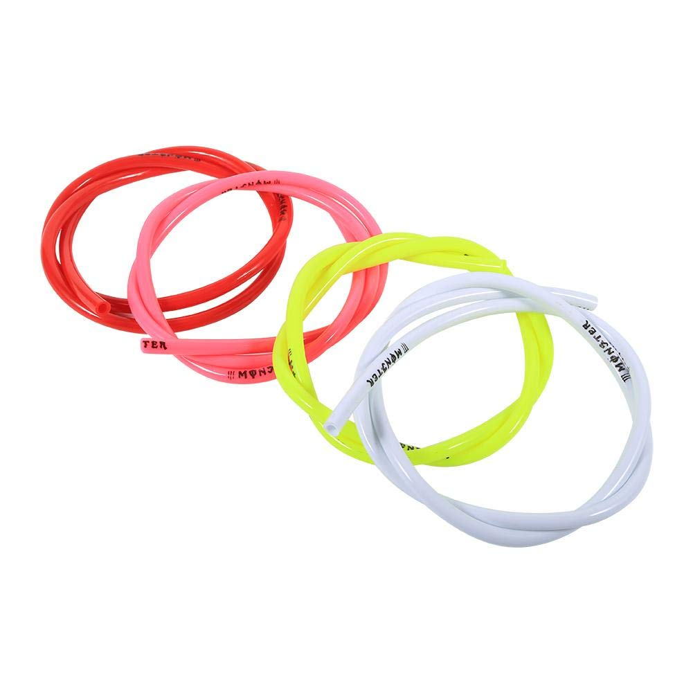 Colorful Gas Fuel Line Hose Tube Pipe Petrol 1//4 inch 3 feet For Motorcycle Dirt Pit Bike ATV Snowmobile PWC Jet Ski Polyurethane Red