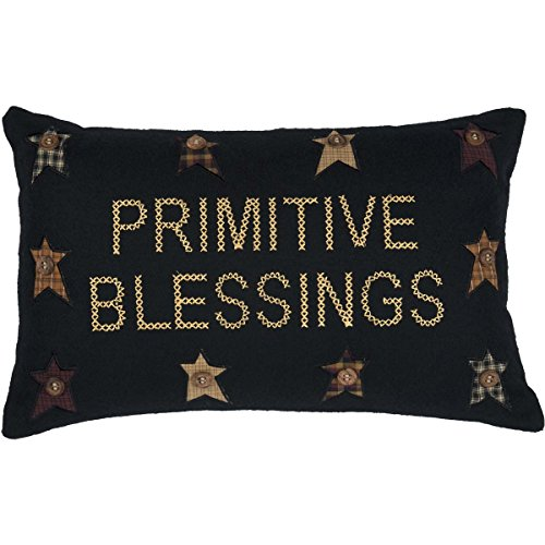 VHC Brands Throws-Primitive Blessings Black 14