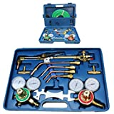 New Oxy Acetylene Welding Cutting Torch Kit Fits Victor