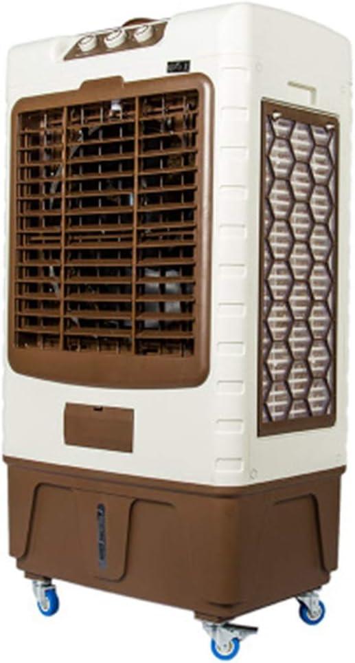 Refrigerador de Aire por evaporación con Bloque de Agua 3 con Enfriador purificador de Aire de polea: Amazon.es: Hogar