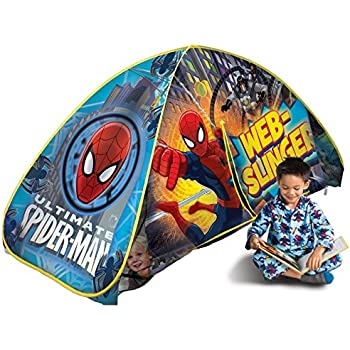 Amazon Com Playhut Spiderman Bed Tent Toys Amp Games
