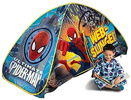 Playhut Spiderman Bed Tent  sc 1 st  Amazon.com & Amazon.com: Playhut Spiderman Bed Tent: Toys u0026 Games