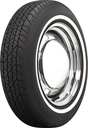 Coker Tire 579810 BFG Whitewall Radial 165R15