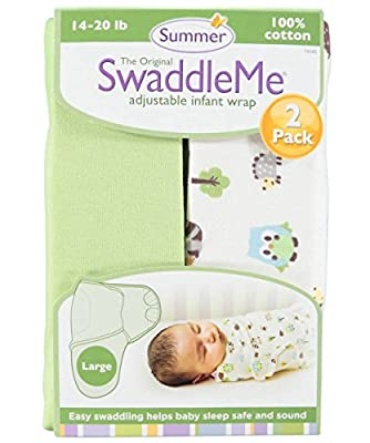 2 Pack Large Swaddleme Blanket from Summer Infant