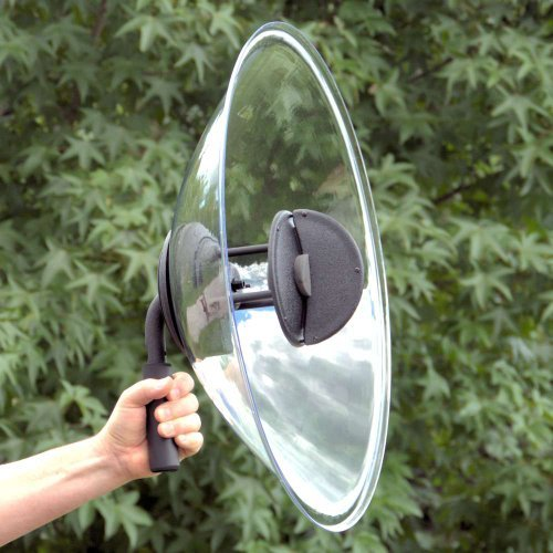 Amplified Mono-Stereo Parabolic Microphone