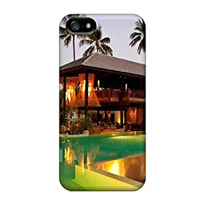 Flower's Town Case Cover For Iphone 5/5s - Retailer Packaging Spa Beach Hotel Protective Case