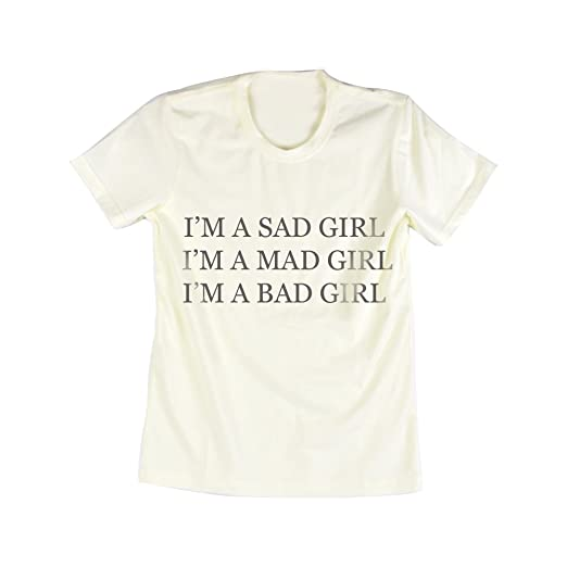 Amazoncom Emeri Unisex Adults Im A Sad Mad Bad Girl Quotes