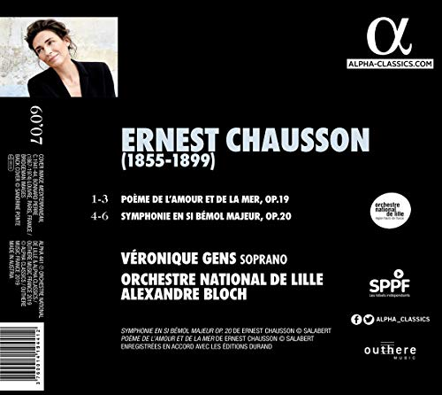 Amazoncom Poeme De Lamour Et De La Mer Symphonie 20 Music