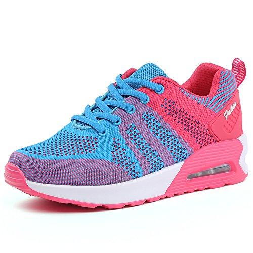 Nuevas Mujeres Deportes Aéreos Zapatillas de Correr Amaestrador Correr Jogging Entrenadores Unisex Gimnasio Entrenadores Gimnasio Ligero Zapatos Meihonglan