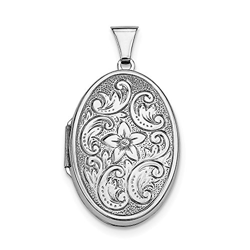 925 Sterling Silver Oval Photo Pendant Charm Locket Chain Necklace That Holds Pictures Fine Jewelry Gifts For Women For -