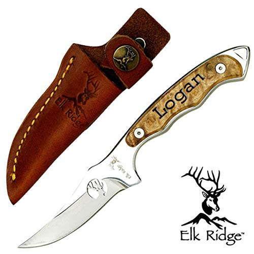 - Elk Ridge Personalized ER-059 Fixed Blade Knife 7