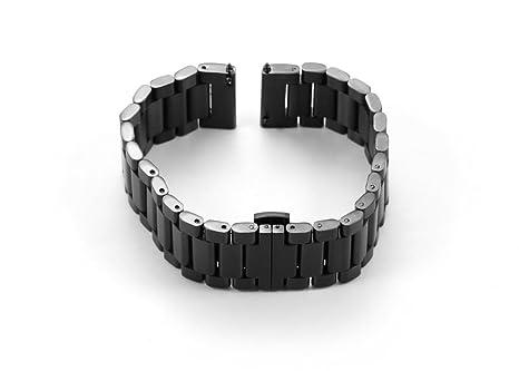 Acier Mm Fixation Istrap Montre Rapide 22 Inoxydable Bracelet En xoWrCQEBde
