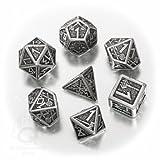 Metall Dwarven 7 Dice Set Board Game