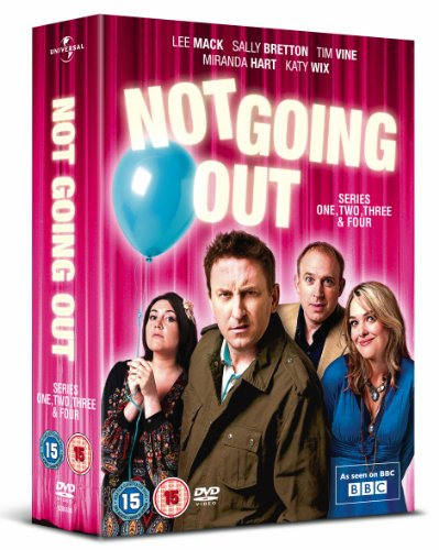 Not Going Out Complete Seasons 1-4 Box Set (UK IMPORT, REGION 2, PAL) by