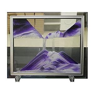 """YayaCat Dynamic Sand Picture Mini Size(7""""×5"""", Purple)"""