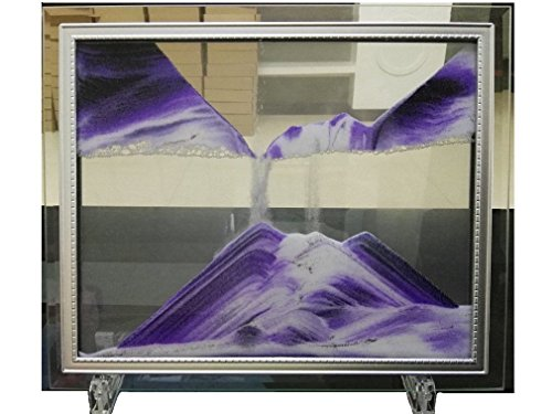 "YayaCat Dynamic Sand Picture Mini Size(7""×5"", Purple)"