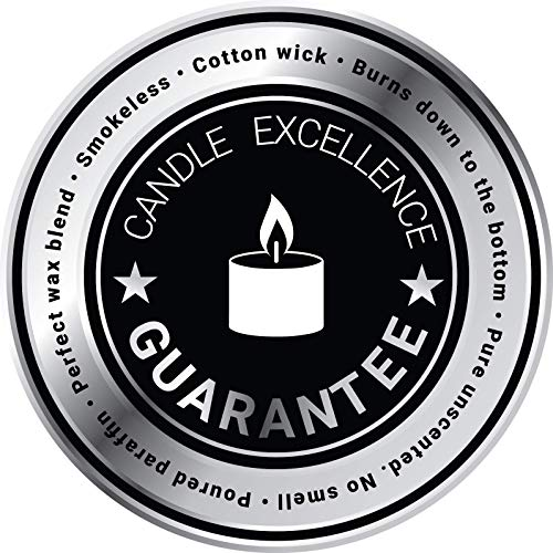 CandleNScent | 5 Hour Tealight Candles | 200 Tea Lights | White | Unscented | Extended Burning time | Poured Wax | Made in USA by CandleNScent (Image #5)