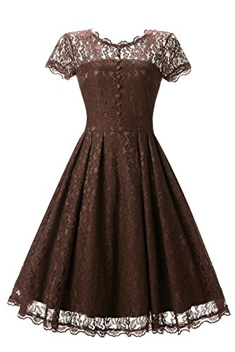 brown dresses for prom - 6