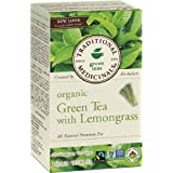Traditional Medicinals Organic Green Tea With Lemongrass, 20 tea bags