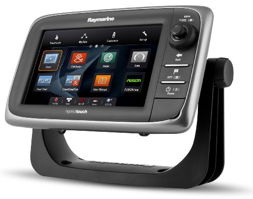 Raymarine e7D 7-Inch Touchscreen Multi-Function Display/Fishfinder with Lighthouse US Coastal Charts Fish Finders And Other Electronics Raymarine