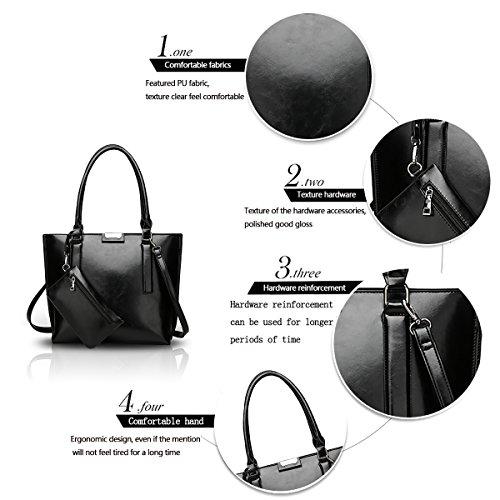 son capacity 2018 ladies purse Nero Tisdaini of fashion new retro handbag simple large bag shoulder the a4TxqzwUx