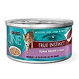 Purina ONE True Instinct Tuna Recipe in Sauce Wet Cat Food - 3 oz. Pull-Top Can