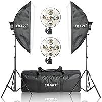 Emart 20 x 28 Softbox Photography Light Kit, 2250 Watt Photo Video Equipment Soft Studio Continuous Lighting Kit
