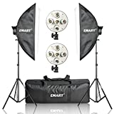 "Emart 20"" x 28"" Softbox Photography Light Kit, 2250 Watt Photo Video Equipment Soft Studio Continuous Lighting Kit"