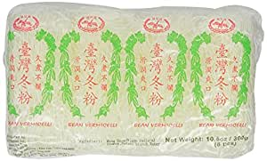 Double Happiness Vermicelli Bean Threads in Net, 10.5-Ounce (Pack of 5)