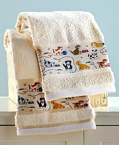 Dog Breed Hand Towels - 7