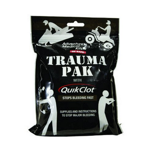 Adventure Medical Kits Professional Trauma Pak Kit with QuikClot Sponge and First Aid Instructions