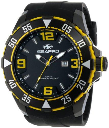 Seapro Men's SP1114 Diver Analog Watch