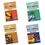 Matt's Munchies Premium Fruit Snack Mango 4 Flavor Variety Pack (Pack of 12) by Matts Munchies