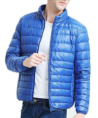 Sleeve amp;W M Down Puffer amp;S Weight Jacket 1 Long Light Men's Ultra Winter wUqX6qx5