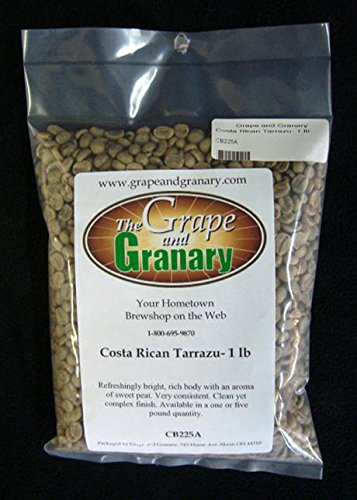 Costa Rican Tarrazu unroasted Coffee Beans (1LB)