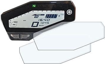 2x Yamaha Mt 09 Fz 09 Displayschutzfolie Tachoschutzfolie Screen Protector Ultra Clear Auto