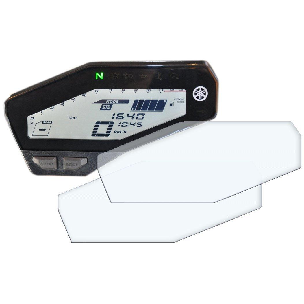 Speedo-Angels YAMAHA MT-09 / FZ-09 Dashboard / Instrument Cluster screen protector - 1 x Ultra-Clear & 1 x Anti-Glare SAYAMMT0911