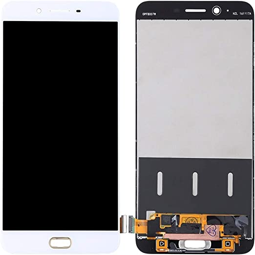 Color : White White Nobrand ZHENGGOU for LCD Screen LCD Screen and Digitizer Full Assembly for Oppo R9s Plus