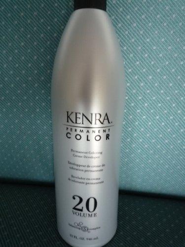 Kenra Permanent Coloring Creme Developer, 30 vol , 32 oz, 1 liter by Kenra