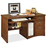 Martin Furniture Mission Pasadena Single Pedestal Computer Desk Review