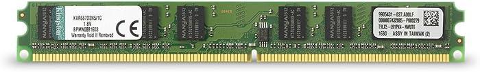 Kingston ValueRAM 1GB 667MHz DDR2 Non-ECC CL5 DIMM Desktop Memory