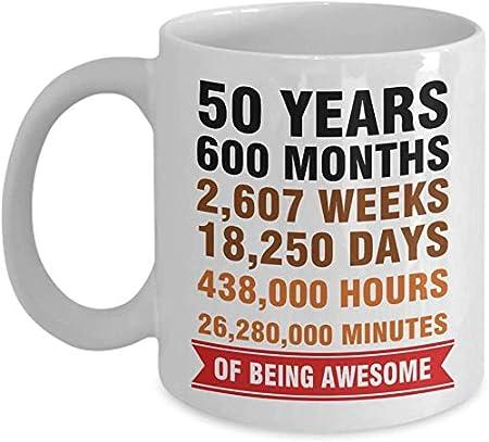 50 Anni Compleanno Mamma Regalo.Thorea 50 Anni Mesi Settimane Giorni Ore Minuti Per Essere